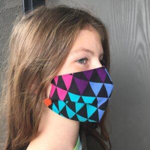 Medium mask on 12yo